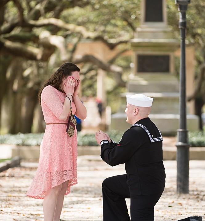 Caroline & Matt's Secret Wedding Proposal