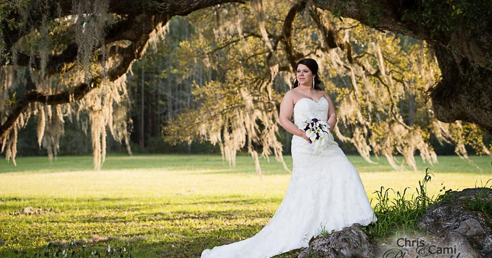 Ashley's Bridal Session at Runnymede Plantation