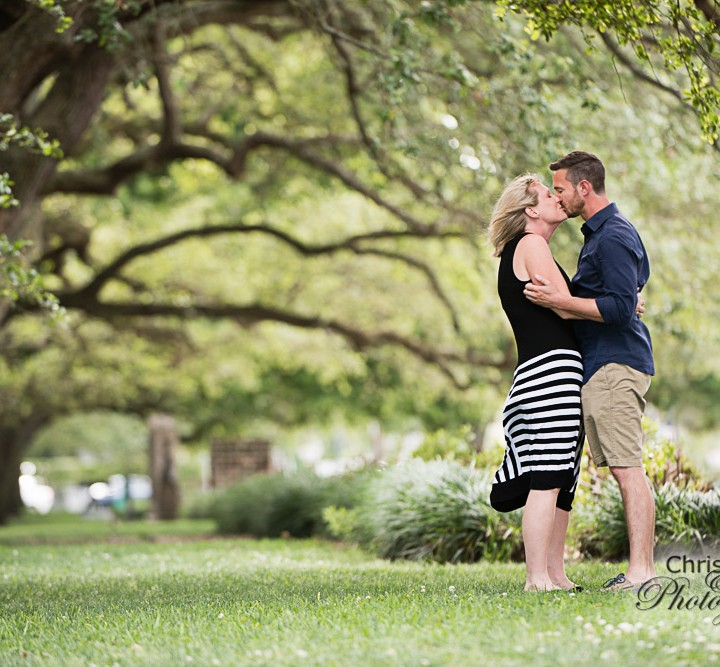 Jon & Jennifer's Secret Proposal at White Point Garden