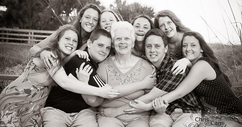 The Hines Family on Hilton Head Island