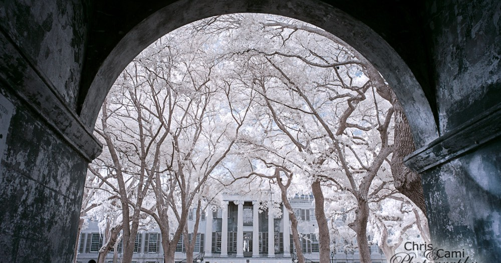 College of Charleston in Infrared