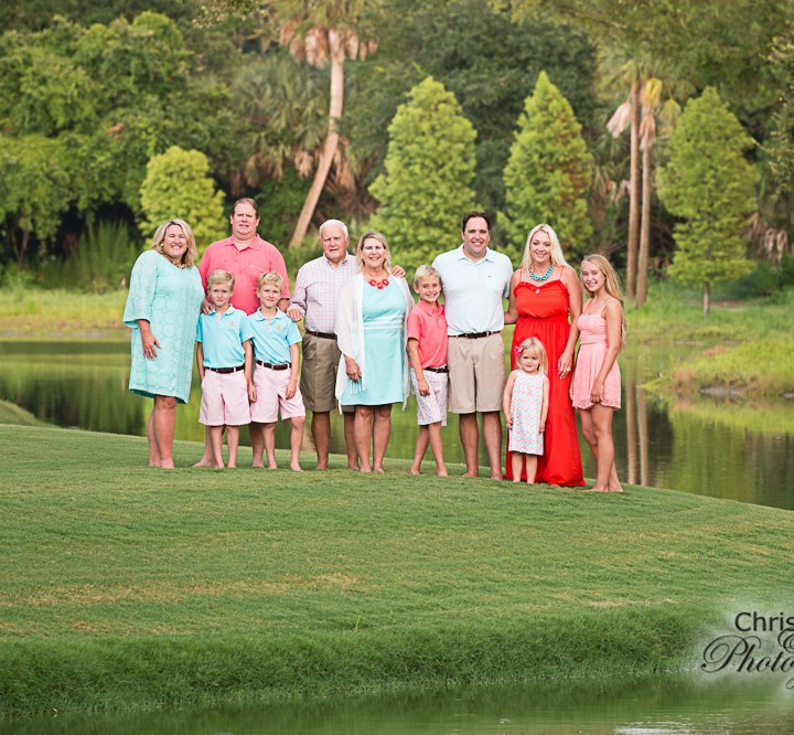 Ross Family on Kiawah Island