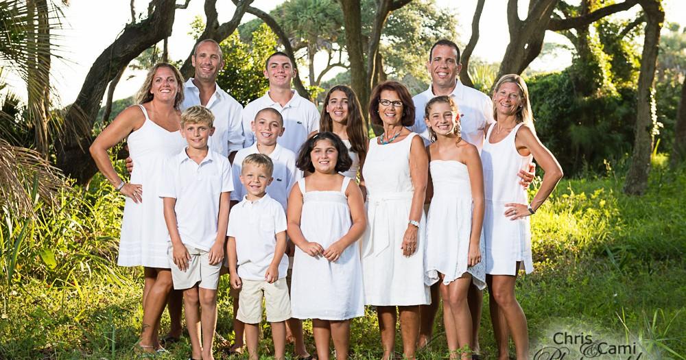 Riccardi Family on Kiawah Island