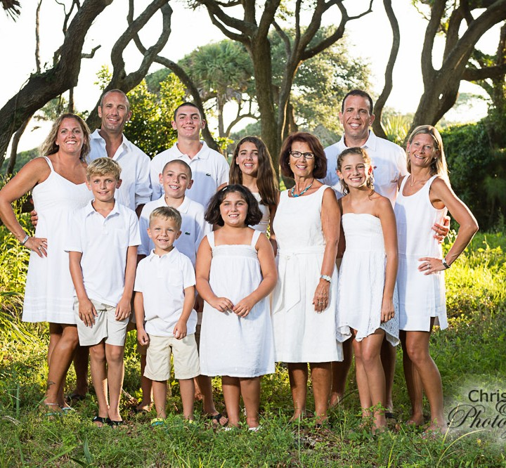 Riccardi Family on Kiawah Island