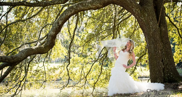Molly's Bridal Shoot at Charlestowne Landing