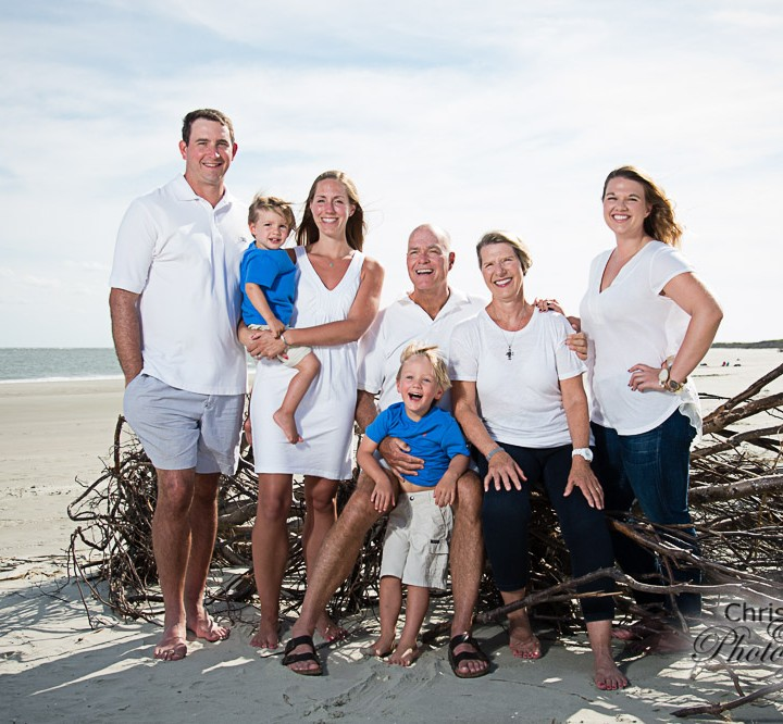 LaCoste Family on Seabrook Island