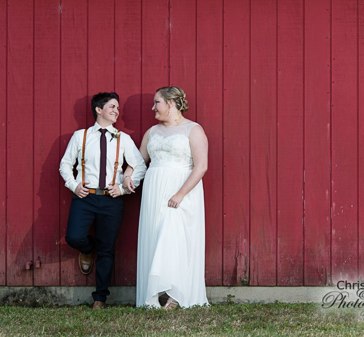 Amanda & Alicia's Wedding at Medecine Wind Farms