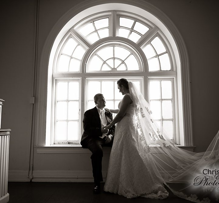 Darcy & David at St. Paul's Episcopal Church