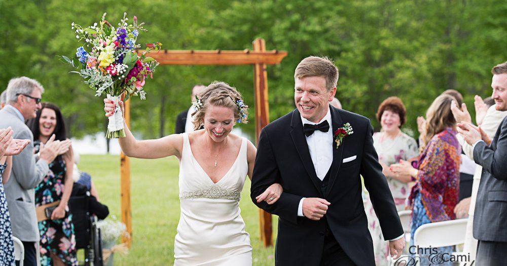 Sarah & Todd's Shenandoah Wedding