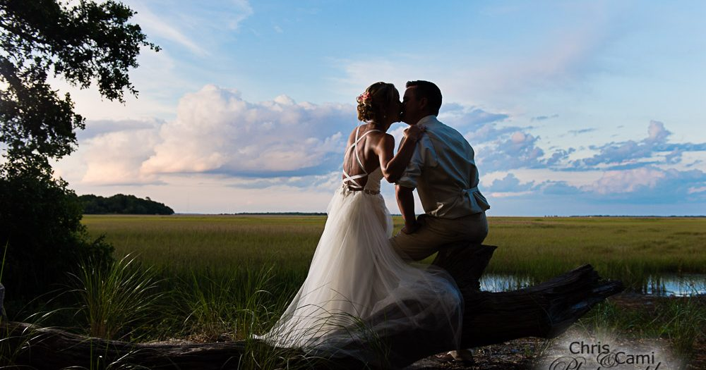 Jennifer & Matt's James Island Wedding