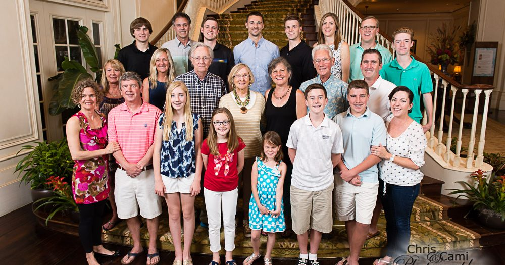 Martin & Phelps Family Reunion on Kiawah Island
