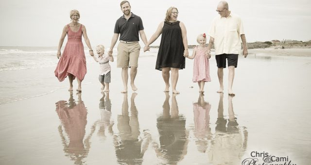 Nester Family on Seabrook Island