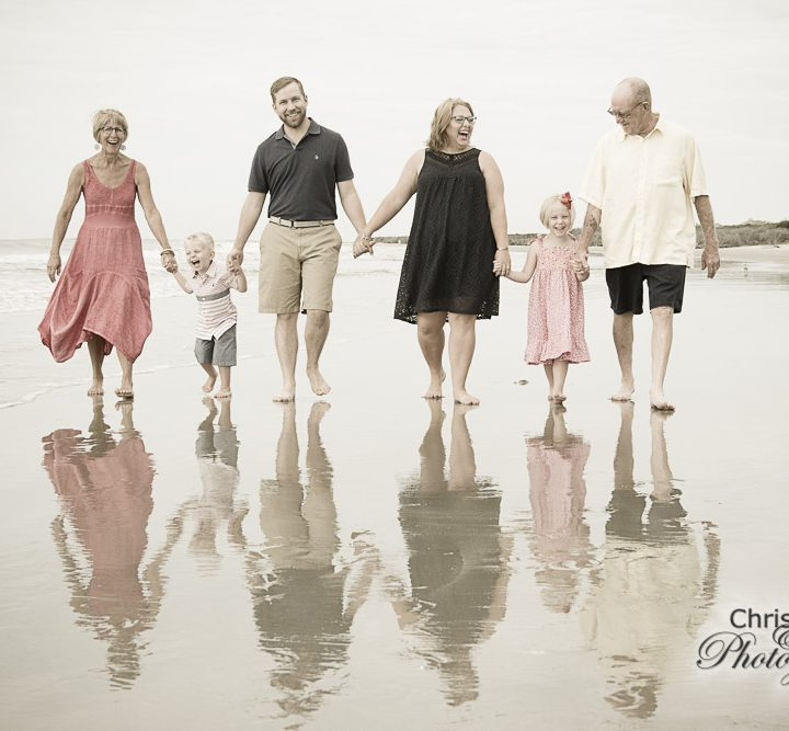 Nester Family on Seabrook Island
