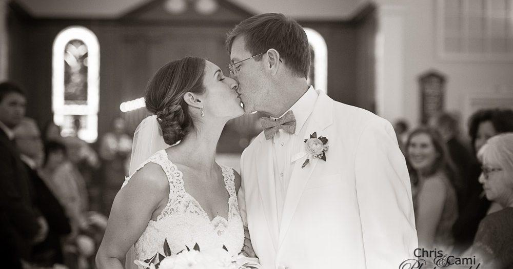 Tatjana & Scott 's Wedding at St. John's Parish