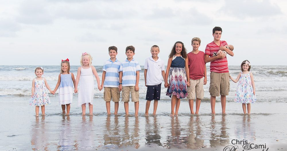 Mahoney Family on Isle of Palms