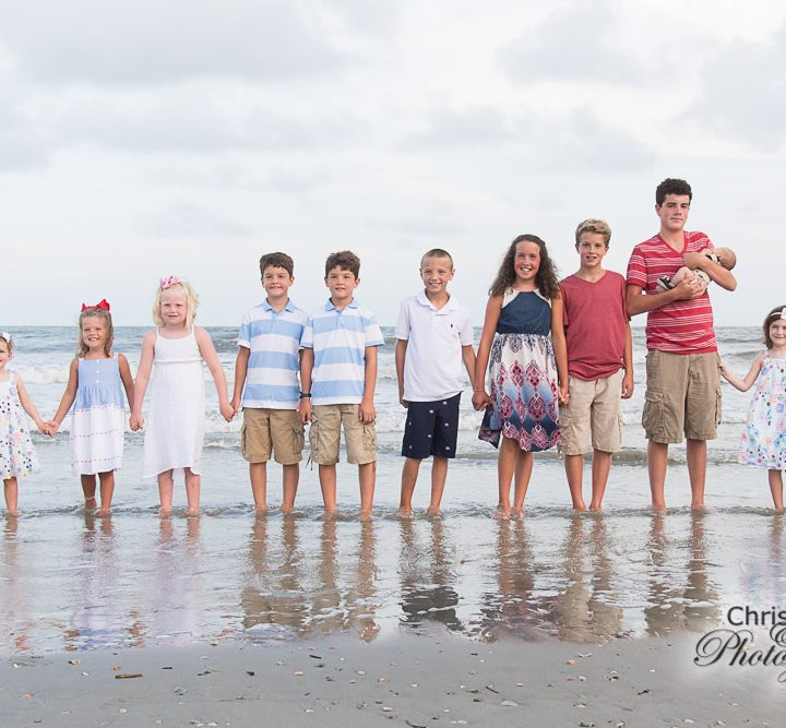 Mahoney Family on Isle of Palms