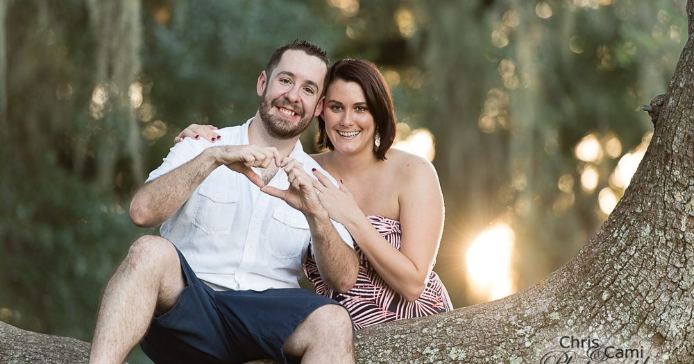 Chris & Mandi's Secret Proposal at Middleton Place