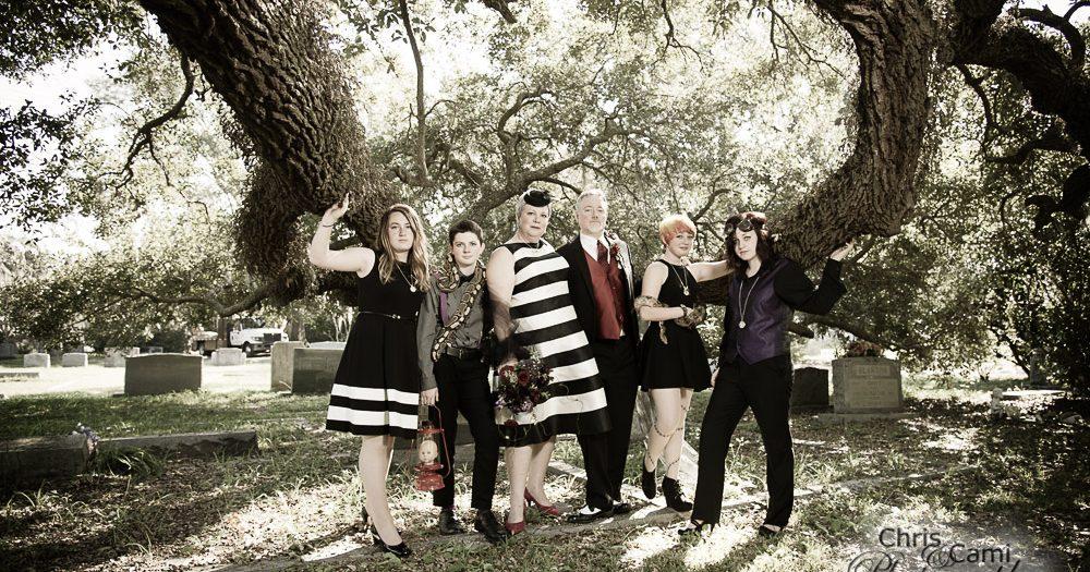 Reid & Paul's Halloween Shoot at Bethany Cemetery
