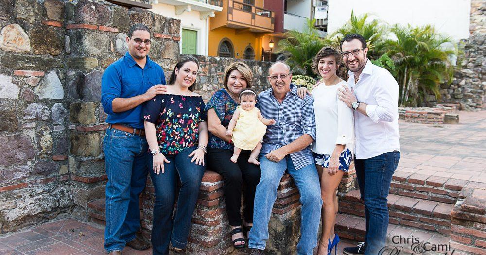 Tajeda Family in Casco Viejo