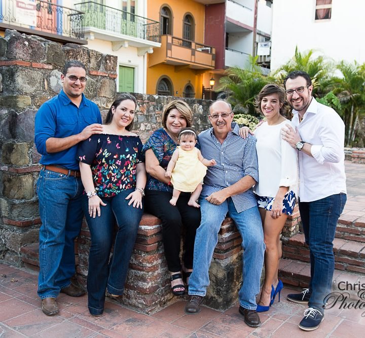 Tajeda Family in Casco Viejo