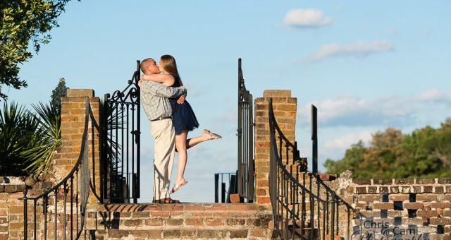 Loryssa & Tony's Secret Proposal at Middleton Place Plantation