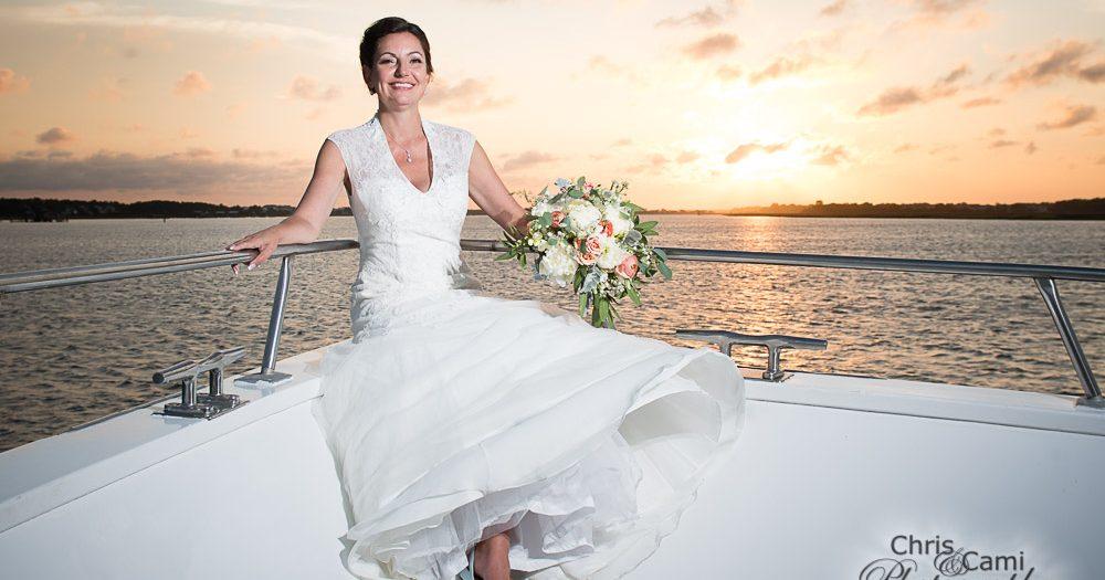 Tani & Scot's Wedding on the Carolina Girl