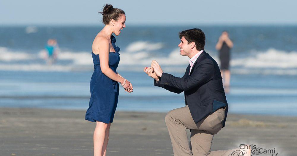 Andrew & Melissa's Kiawah Island Proposal