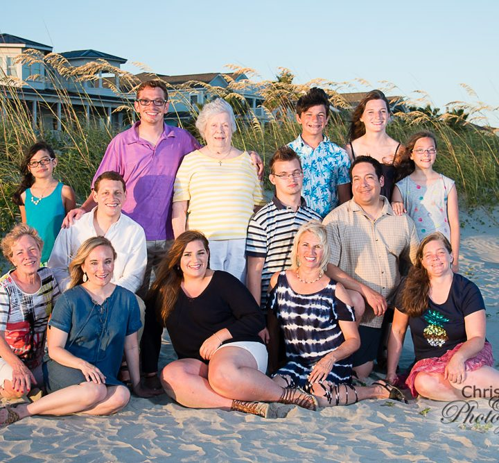 Medina Family on Isle of Palms