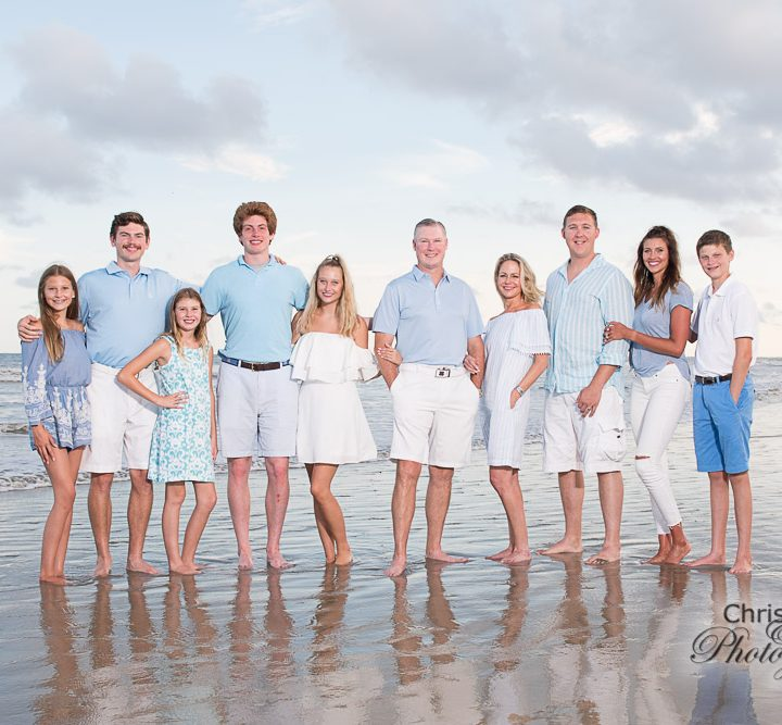 Guin Family on Kiawah Island