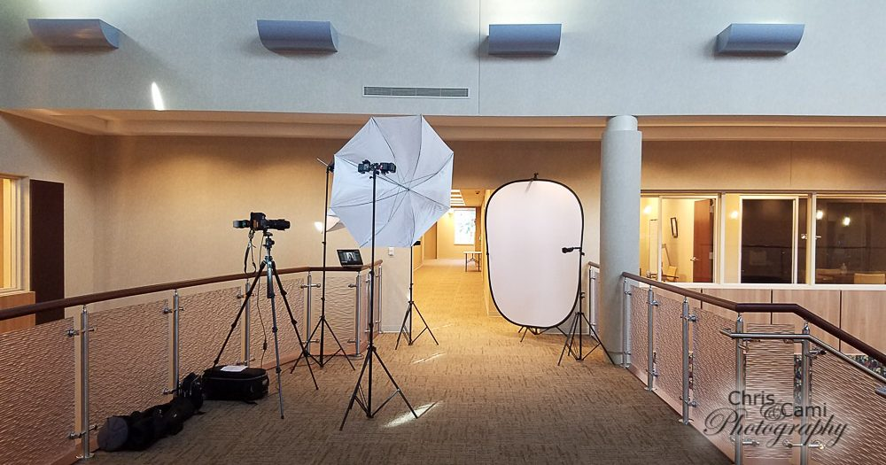 Portable Head-shot Studio