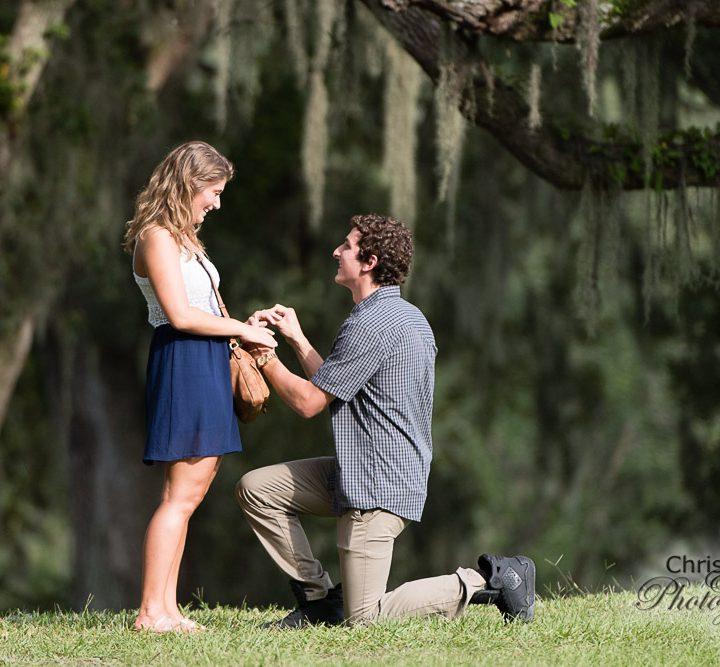 Megan & Chandler's Secret Proposal at Middleton Place