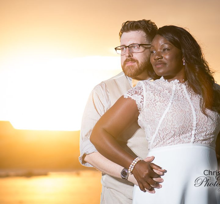 Maisha & Danny's Folly Beach Wedding
