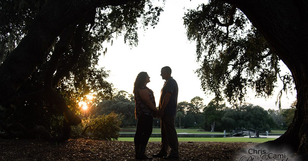 Jaime & Brian's Hampton Park Engagement Session
