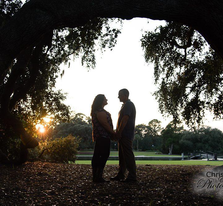 Jaime & Brian's Hampton Park Engagement Session