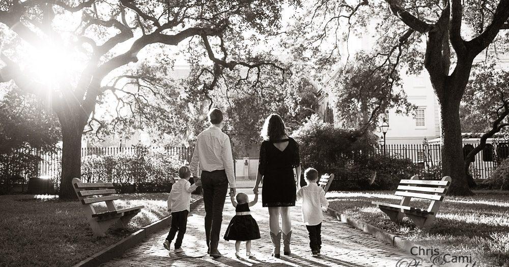 Hadden Family at Washington Square Park