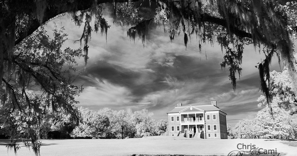 Drayton Hall in Infrared
