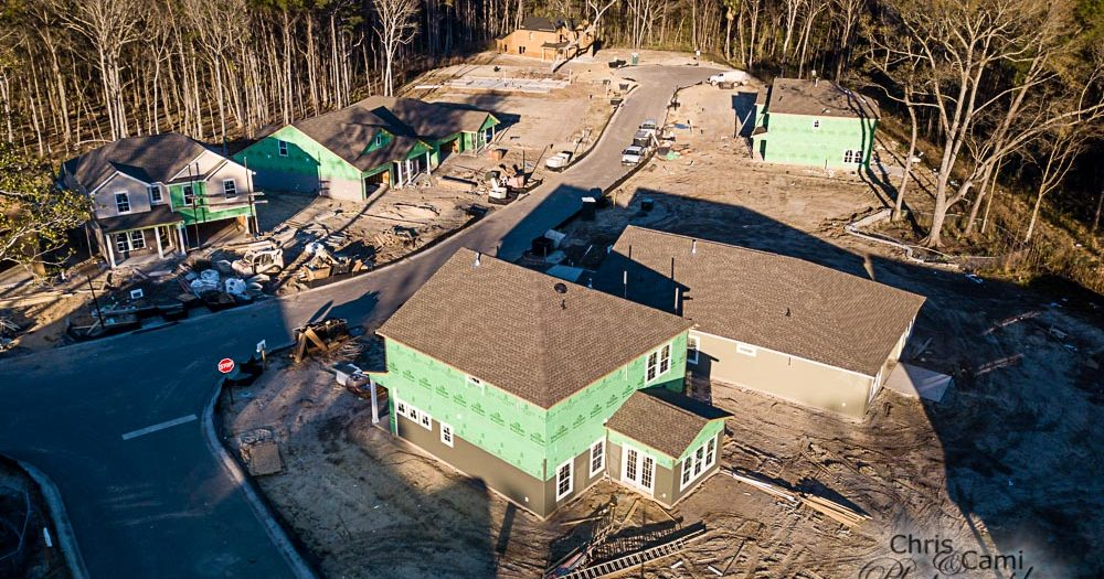 New Construction Drone Photography