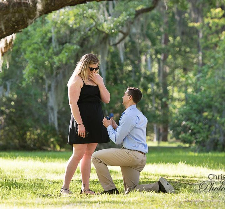 Larry & Joanna's Surprise Proposal at Magnolia Plantation