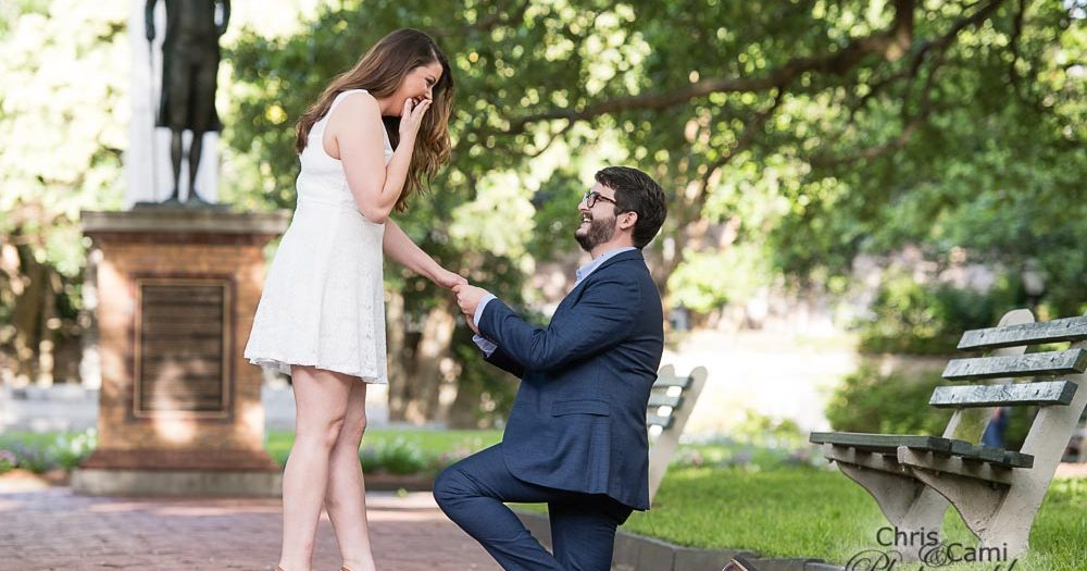 Holly & Huston's Charleston Wedding Proposal