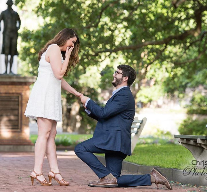 Holly & Huston's Charleston Wedding Proposal