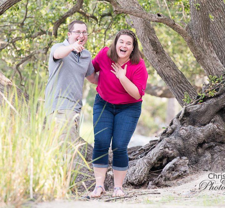 Laura & Ryan's AWESOME Proposal on Daniel Island