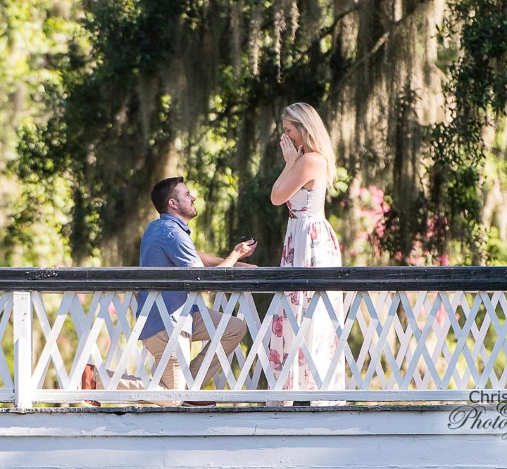 Cody's Proposal to KC at Magnolia Plantation