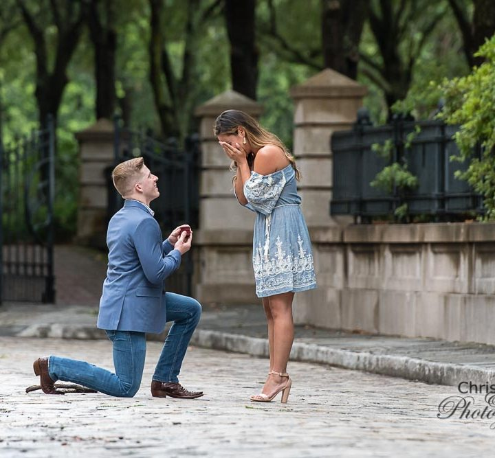 Dustin's Surprise Proposal to Ashley at Waterfront Park