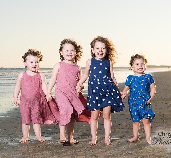 Bursky Family on Kiawah Island