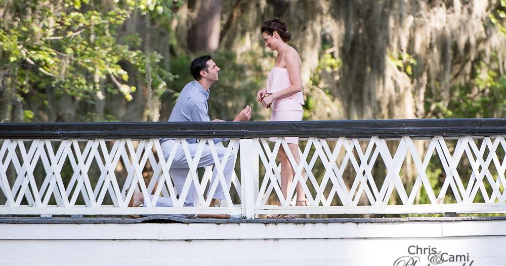 Pat & Adrienne's Surprise Proposal at Magnolia Plantation