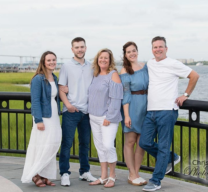 Blandford Family at Waterfront Park