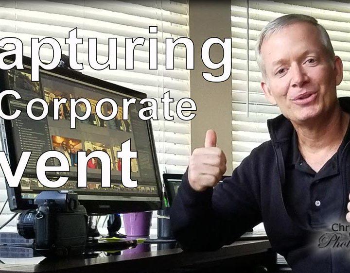 Capturing a Corporate Event