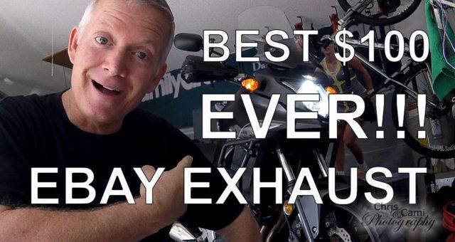 eBay Exhaust:  Best $100 Ever Spent?!?