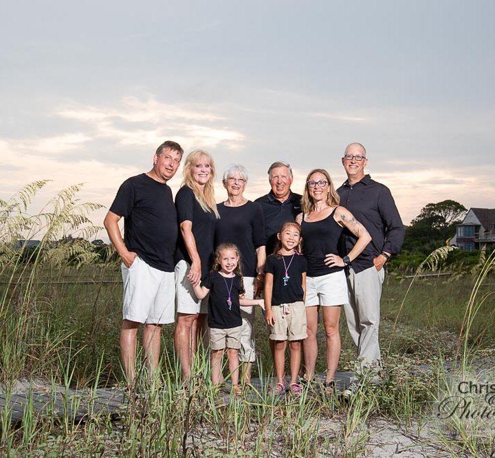 Morrison Family on Kiawah Island