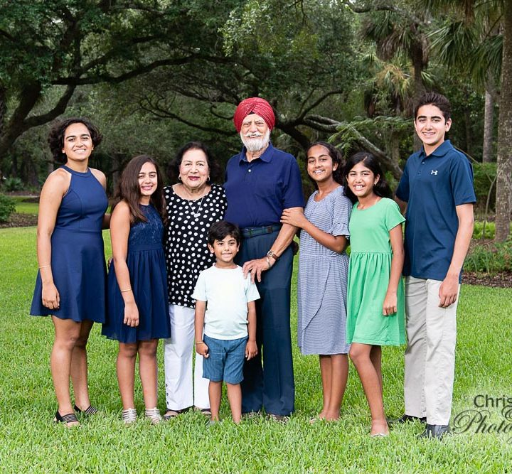 Parikshak Family on Kiawah Island